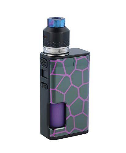 Wismec Luxotic Surface 80 Watt Akkuträger + Kestrel RDTA Verdampfer im E-Zigaretten Set - Farbe: Honeycomb