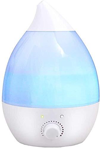 LFSP luchtbevochtigers olie diffuser 400ml essentiële olie diffuser, ultrasone aromatherapie luchtbevochtiger, automatische uitschakeling zonder water, 7 kleuren LED draagbare kantoor luchtbevochtiger