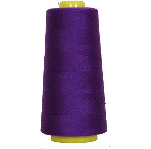 Threadart Polyester Serger Thread - 2750 yds 40/2 - Deep Purple - 56 Colors Available