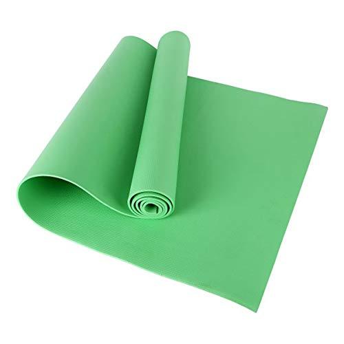 Soapow Esterilla de yoga de 173 x 60 x 0,4 cm, alfombrilla de yoga antideslizante de EVA, alfombrilla de yoga antideslizante para fitness, herramienta de ejercicio, pilates, meditación