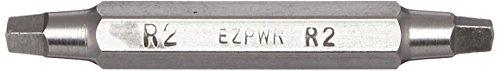 Eazypower 86170 R2-Schraubendreher-Bits für Robertson-Schrauben, 5 cm lang, 25 Stück