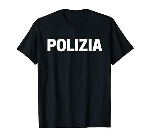 Disfraz de polica italiana de uniformes Camiseta