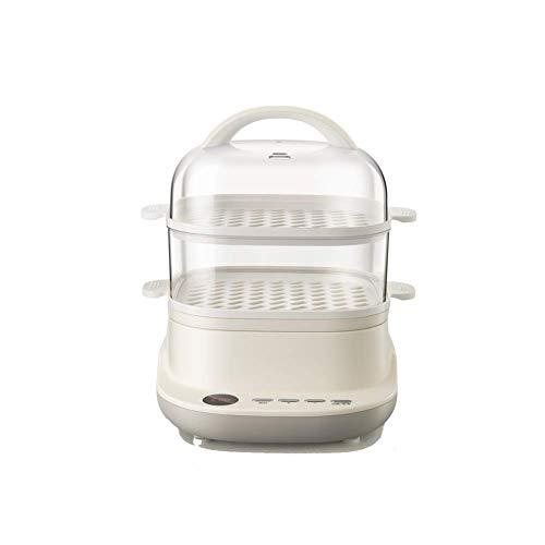 Electric steamer, 2 lagen 6L, for timer koken, automatische power off-het maken van gezonde maaltijden, rijst, vlees, eieren, groenten AQUILA1125