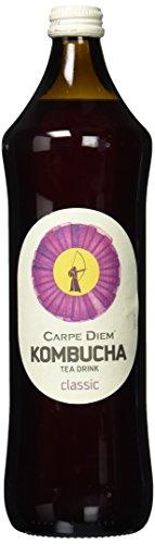 Carpe Diem Kombucha Pur, 8er Pack, EINWEG (8 x 750 ml)