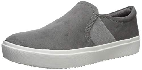Dr. Scholl's Shoes womens Wander Up Sneaker, Dark Shadow Microfiber, 11 US