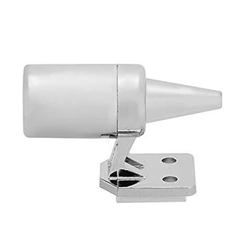 ZXCV Alerte Animale 4PCS, Voiture détachable ultrasonique cerf Alerte Serpent Alarme sonore énergie éolienne répulsif Animal,Argent