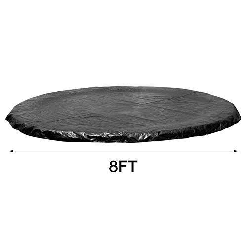 Trampoline Cover - Waterproof & UV Cover - 6/8/10/12/13 Inch Trampolines Weather Cover Rainproof UV Resistant Wear-Resistant Round Trampoline Protective Cover