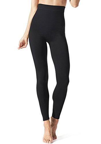 BLANQI Everyday Highwaist Postpartum Leggings - Comfortable Nursing Leggings for Optimal Belly Support, Moderate Support, Active Wear, for Nursing Mothers (X-Large, Black)