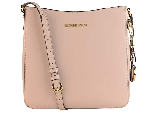 Saffiano leather with gold-tone hardware Measures (L) 10 x (H) 9.5 x (W) 3 inches Adjustable strap Zipper closure Lining: 100% Polyester