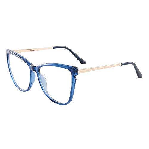 Qier Gafas Bloqueo Luz Azul,Filtro De Computadora Anti Blue Ray, Lectura para Juegos, Lente para Disminuir La Fatiga Ocular, Regalo De Gafas con Montura Gruesa Y Liviana A La Moda, Blanco
