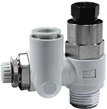 SMC ASP330F-01-06S-J speed control w/check