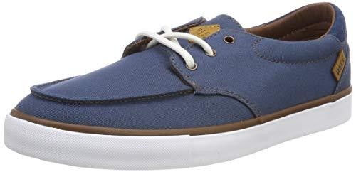 Reef Men's Low-Top Sneakers, Blue Navy White Naw, 10 UK
