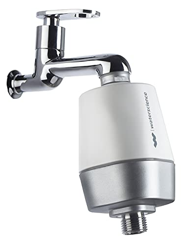 WaterScience CLEO SFU-717 Shower and Tap Filter & Conditioner for Hard Water Softening - Protects Against Hair Fall & Dry Skin (Borewell & Tanker Water)
