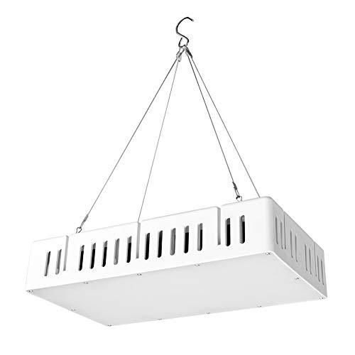 1500W Full Spectrum Betriebslicht, mit Flüsterleises Dual-Lüfter für Garten LED wachsen Licht Anlage Licht Full Spectrum Betriebslampe