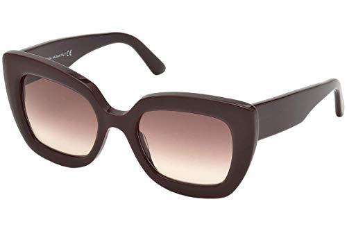 Balenciaga BA0130 48F-52-20-140 Balenciaga Sunglasses Ba0130 48F-52-20-140 Schmetterling Sonnenbrille 52, Braun