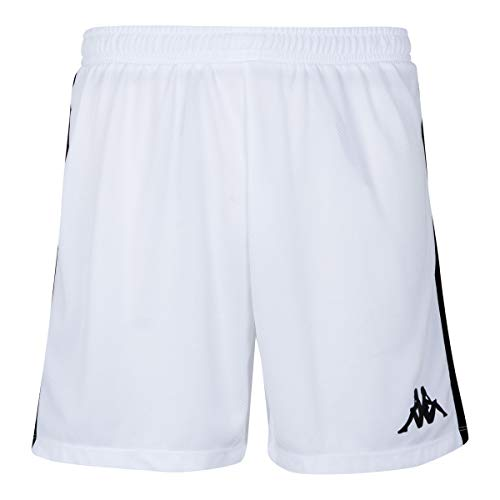 Kappa Calusa Pantalones Baloncesto, Mujer, Blanco, XS