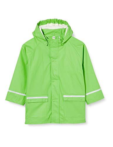 Sterntaler Jungen Regenjacke ungefüttert Regenmantel, Grün (Grün 254), Größe: 116