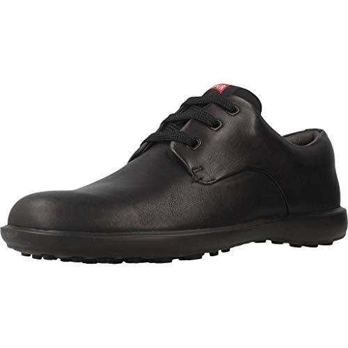 Camper Atom Work Zapatos de cordones Oxford, para Hombre, Negro, 43 EU
