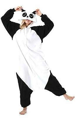 Adultos Animal Pijamas Cosplay Animales de Vestuario Ropa de Dormir Halloween y Carnaval Disfraces Panda L