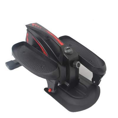 ZXXxxZ Gym Mini Stepper, Zeit und Kalorienverbrauch, Ellipsentrainer für den Heimgebrauch, einstellbare Höhe und Widerstand