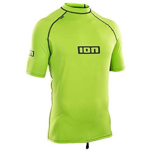 Ion Rash Guard Promo Rashguard Men SS Lime Green 52/L