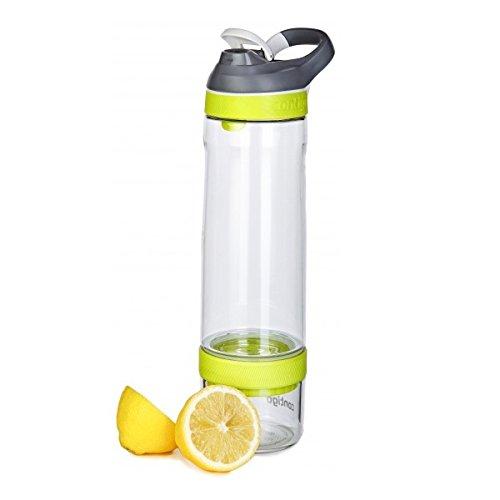Contigo Cortland Infuser Water Bottle, Vibrant Lime, 26 oz/770 ml