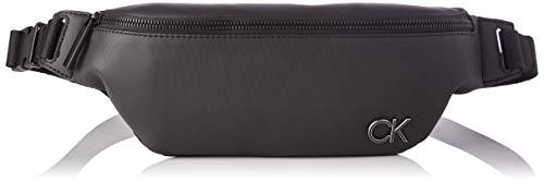 Calvin Klein WAISTBAG, BOLSA DE CINTURA para Hombre, Black, 28 Inches, Extra-Large