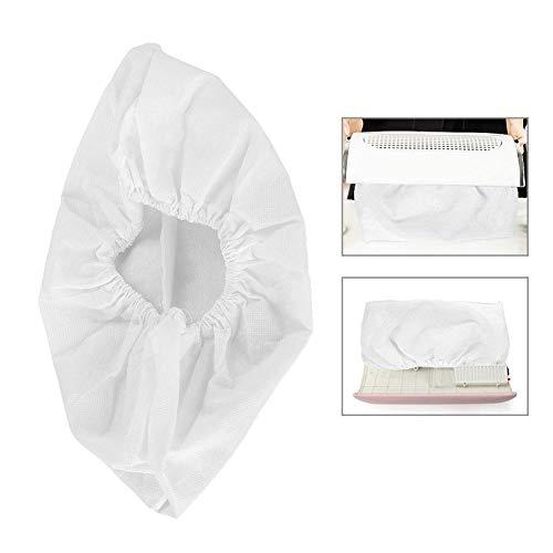 Sac de collecteur de poussière, outil non-tissé de nettoyage à vide de machine d'aspiration de saleté de sac de collecteur de poussière d'ongle(1 PCS)