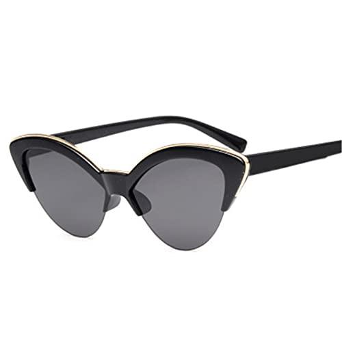 ShZyywrl Gafas De Sol De Moda Unisex Gafas De Sol con Forma De Ojo De Gato Y Mariposa para Mujer, Gafas De Sol De Moda para Mujer, Sombra De Color Teñida De Mo