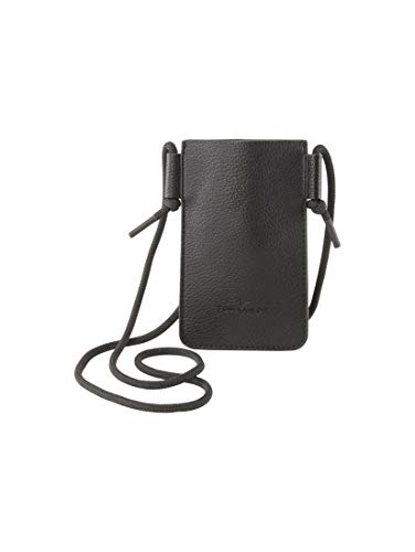TOM TAILOR Damen Taschen & Geldbörsen Mobiltelefonhalter mit Schulterriemen schwarz/black,OneSize