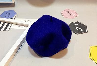 Otoño Niños Bebé Sombrero BeretBud Cap Tide Recién Nacido Accesorios de fotografía-Blue-38cm to 45cm