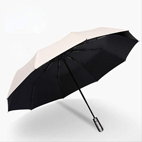 NUIOsdz Automatische Sonnenschirmbeschichtung Solarschirm Anti-ultra3 Falten Wind Anti-Wind-Regenschirm