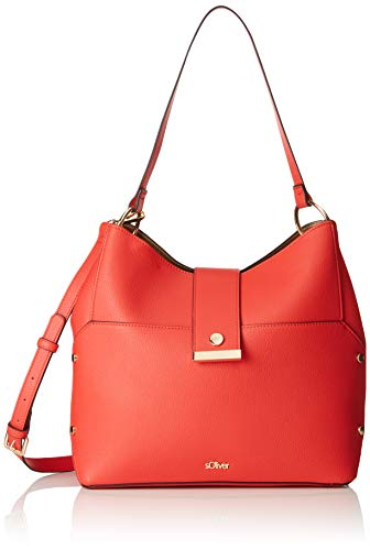 s.Oliver (Bags) 39.904.94.2054DonnaBorsa a manoRosso (Red) 13x26x36 centimeters (B x H x T)