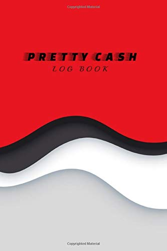 Petty Cash Log Book: Petty Cash Book Ledger Record Keeping Payment for Manage Personal, Business Accounts : Capas Paper Cut Colorful Design