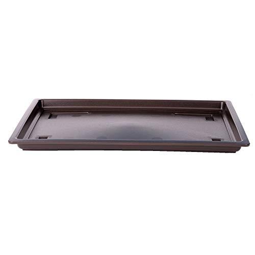 Soucoupe rectangulaire pour Bonsaï – env. 40 x 30 cm, Plastique 53130