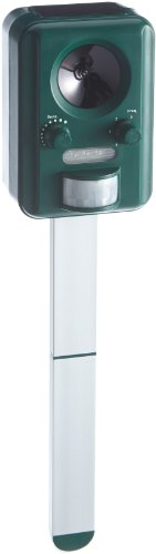 UNITEC Haus-/Wildtiervertreiber, Ultraschall, grün, 15 x 11.50 x 7.50 cm, 1293.8 ml, 41048
