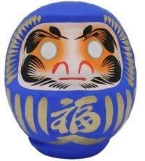 Japón CRAFT - LUCKY de muñecas de hasta - DARUMA - patrones e instrucciones para hacer 2 - azul