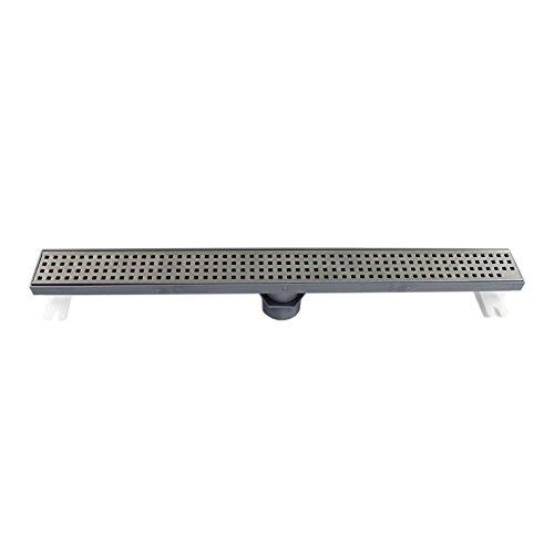 QuARTz by ACO 37243 Plus   3-Feet   Square Design Grate