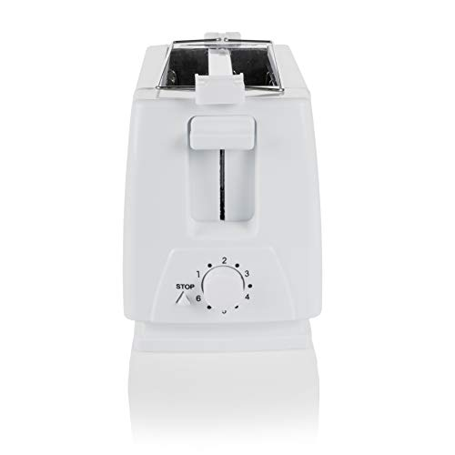 Tristar BR-1009 Grille-Pain – 2 Fentes Courtes – 650W, Blanc