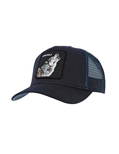 Gorra Trucker Lone Wolf de Goorin Bros. - Azul Marino - Ajustable