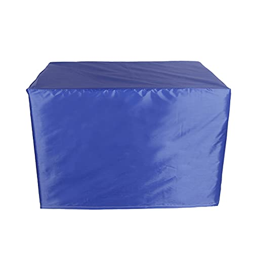 Patio Chair Covers 205X104X71Cm Rectangular Garden Table Cover 210D Waterproof and Heavy Duty Furniture Covers Fit Large Rectangular/Oval Furniture Set Blue