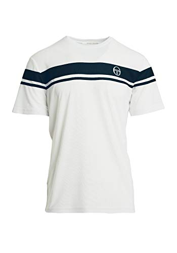 Sergio Tacchini T-Shirt Young Line Pro Shirt besonders luftiges Material Herren