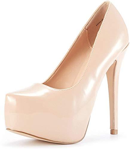 Zapatos Tacon Nude  marca DREAM PAIRS