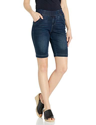 Jag Jeans Women's Gracie Pull On Bermuda Short, Baltic Blue, 0