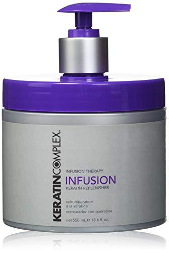 Queratina Complejo Infusión - 550 ml / 18,6 oz, 1er Pack (1 x doce y cincuenta y cinco l)