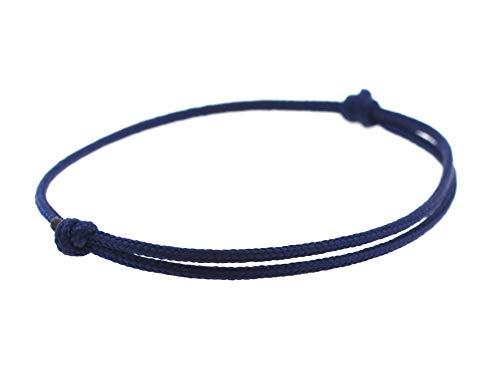 KOMIMAR dezentes Surfer Armband DEEP BLUE - Schmuck - Damen Herren Armband - dezent cool und lässiger Style - Freundschaftsarmband - Strandschmuck - Geburtstagsgeschenk