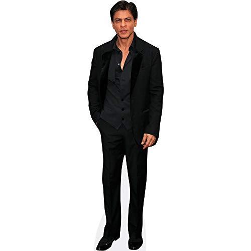 Celebrity Cutouts Shah Rukh Khan (Black Suit) Pappaufsteller lebensgross