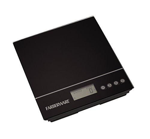 Farberware Professional Electronic Kitchen Scale, Black