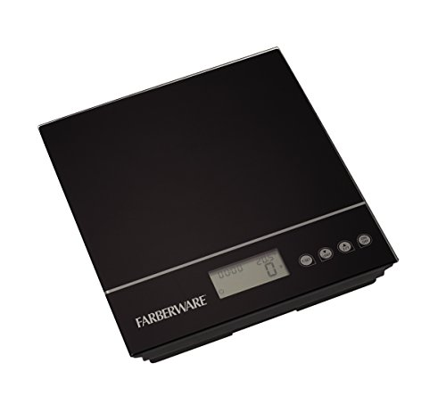 Farberware Professional Electronic Kitchen Scale, Black