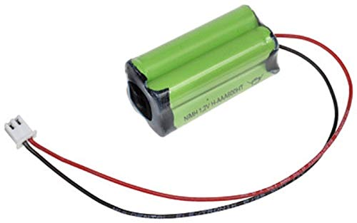 4,8V 600mAh AAA Micro NI-MH Mexcel Notleuchten Akkupack NS4/600AAAHT Kabel & Stecker Modellbau Notlicht Sicherheitsbeleuchtung